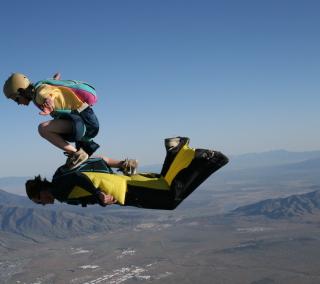 Skydiving - Obrázkek zdarma pro iPad 2