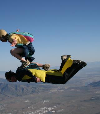 Skydiving - Obrázkek zdarma pro Nokia Asha 308