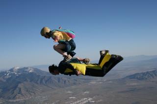 Skydiving - Obrázkek zdarma pro Samsung Galaxy Q