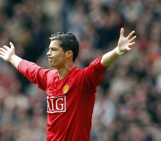 Cristiano Ronaldo, Manchester United - Obrázkek zdarma pro iPad 3