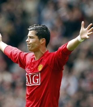 Cristiano Ronaldo, Manchester United - Obrázkek zdarma pro Nokia X1-00