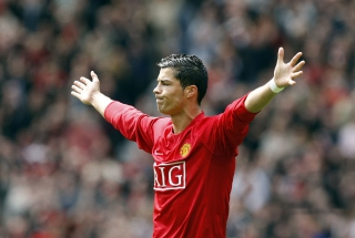 Cristiano Ronaldo, Manchester United - Obrázkek zdarma pro LG P700 Optimus L7