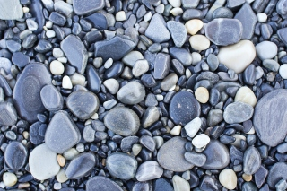 Pebble beach - Obrázkek zdarma pro 800x480