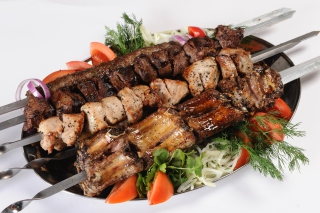 Georgian barbecue shashlik Wallpaper for Android, iPhone and iPad