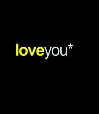 Love You - Obrázkek zdarma pro Nokia 300 Asha