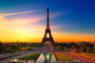 Обои Paris Sunset на Android