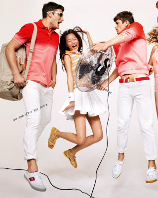 Lacoste Advertising - Obrázkek zdarma pro 240x320