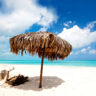 Beach Mauritius - Obrázkek zdarma pro 128x128