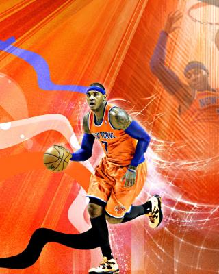 Carmelo Anthony NBA Player - Obrázkek zdarma pro Nokia Asha 303