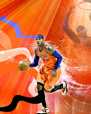 Carmelo Anthony NBA Player - Obrázkek zdarma pro Nokia C-5 5MP