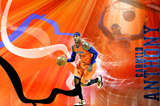 Carmelo Anthony NBA Player - Obrázkek zdarma pro Widescreen Desktop PC 1920x1080 Full HD