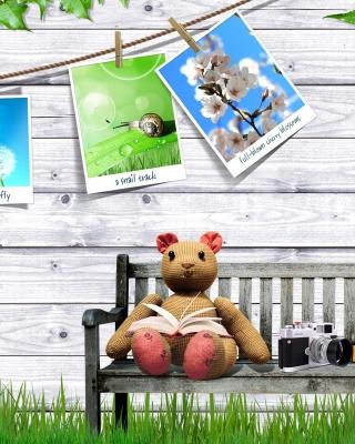 Clipart with Photos - Obrázkek zdarma pro iPhone 5S