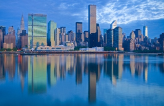 Free New York City Morning Picture for Android, iPhone and iPad