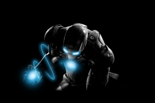 Mysterious Iron Man Picture for Android, iPhone and iPad