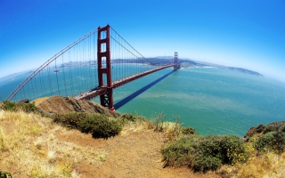 Golden Gate Bridge Wallpaper for Android, iPhone and iPad