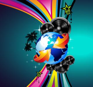 Creative HD Party - Obrázkek zdarma pro 1024x1024