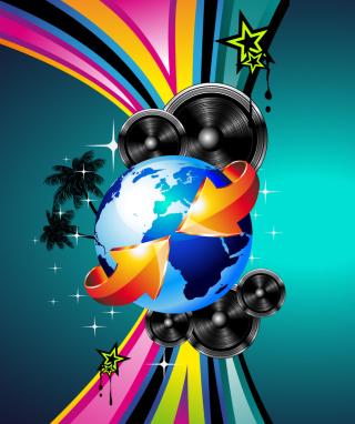 Creative HD Party - Obrázkek zdarma pro Nokia C-Series