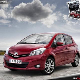 Toyota Yaris 2012 - Obrázkek zdarma pro iPad Air