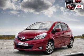 Toyota Yaris 2012 - Obrázkek zdarma pro Samsung Galaxy A3
