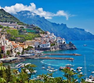 Beautiful Greece City - Obrázkek zdarma pro iPad mini