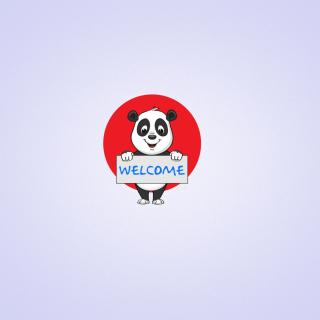Welcome Panda - Obrázkek zdarma pro iPad 3