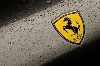 Ferrari Logo Image Background for Android, iPhone and iPad