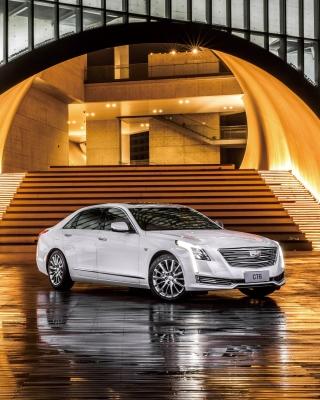 Cadillac CT6 on Auto Show - Obrázkek zdarma pro 480x640