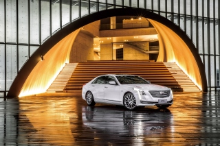 Cadillac CT6 on Auto Show - Obrázkek zdarma pro 1400x1050