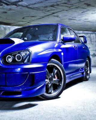 Subaru Impreza WRX - Obrázkek zdarma pro Nokia X7