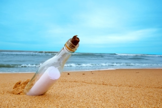 Message In Bottle - Obrázkek zdarma pro Widescreen Desktop PC 1280x800