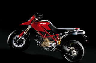 Ducati Hypermotard 796 - Obrázkek zdarma pro 1024x600