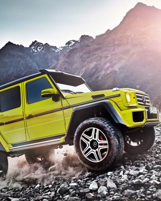 Mercedes Benz G500 4x4 - Obrázkek zdarma pro 132x176