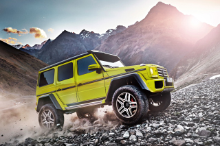 Mercedes Benz G500 4x4 Picture for Android, iPhone and iPad