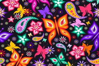 Floral Butterflies - Fondos de pantalla gratis para LG E400 Optimus L3