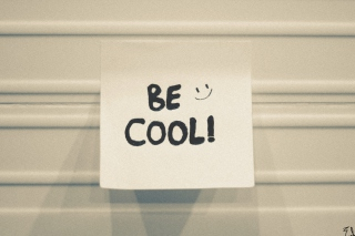 Be Cool Background for Android, iPhone and iPad