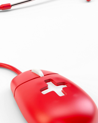 Red Mouse - Obrázkek zdarma pro 640x1136