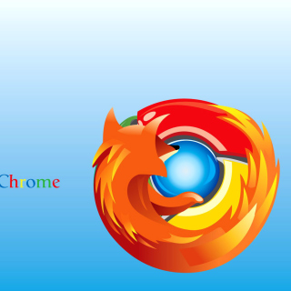 Mozilla Chrome - Obrázkek zdarma pro iPad mini