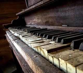 Old Piano - Obrázkek zdarma pro 208x208