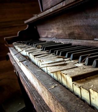 Old Piano - Obrázkek zdarma pro 360x400