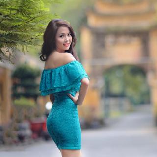 Asian Girl - Obrázkek zdarma pro 128x128