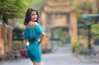 Asian Girl - Obrázkek zdarma pro Fullscreen Desktop 1400x1050
