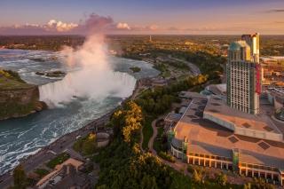 Niagara Falls in Toronto Canada - Obrázkek zdarma pro LG Optimus L9 P760