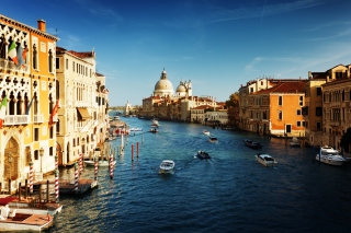 Venice, Italy, The Grand Canal Picture for Android, iPhone and iPad