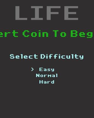 Insert Coin to Begin - Obrázkek zdarma pro Nokia X7