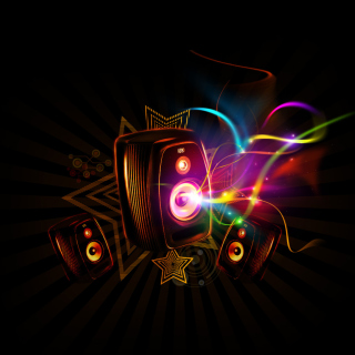 Dark Speakers - Obrázkek zdarma pro iPad mini 2