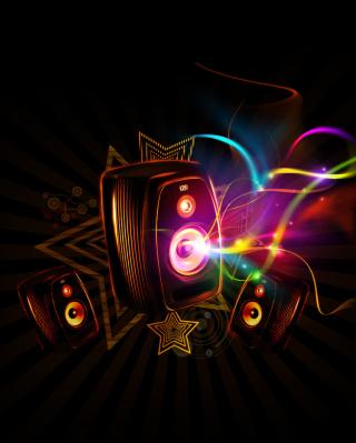 Dark Speakers - Obrázkek zdarma pro iPhone 5C