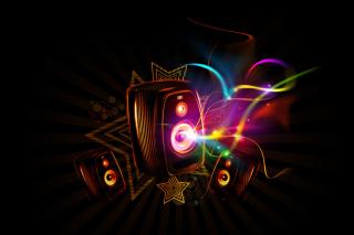 Dark Speakers - Obrázkek zdarma pro Sony Tablet S
