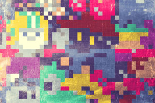 Colorful Mosaic Abstraction Background for Android, iPhone and iPad
