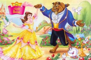 Обои Princess Belle Disney для телефона