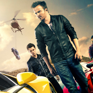 Need for speed Movie 2014 - Aaron Paul - Obrázkek zdarma pro 1024x1024